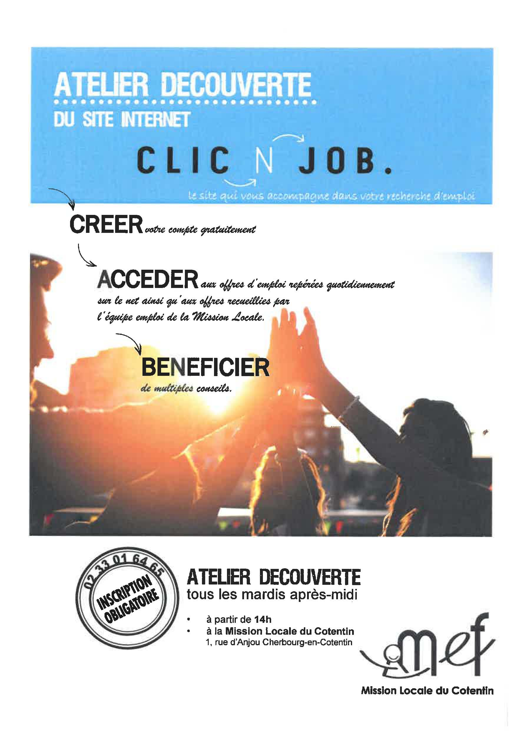 Atelier clicnjob